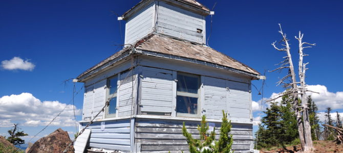 Black Butte Cupola Being Restored
